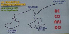 """El 14 de septiembre se realizara la IX marcha mountanbike """"Candelario 2008""""."""