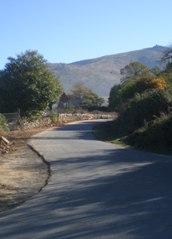 La 3º fase de farolas de la carretera de la sierra ya esta casi finalizada