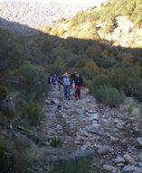 Los caminos empedrados de Candelario