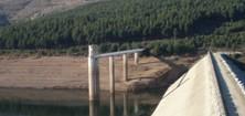 La presa de Navamuño garantiza el abastecimiento para más de un año.