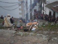 Más de 700 personas vieron el Belén Viviente de Candelario