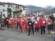 Mucha participación y ambiente festivo en la Sansilvestre corita 2008