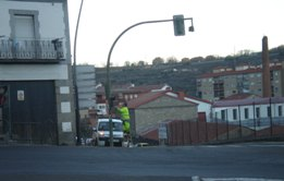 Los semáforos del cruce Béjar-Candelario vuelven a la normalidad