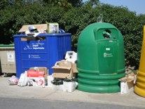 La recogida selectiva de residuos aumentó el 25% en los pueblos