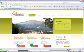 La Web municipal de Candelario enlaza a Candelario Opina
