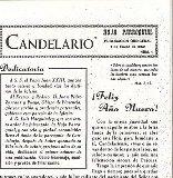 Un blog recopilará la historia de la Hoja Parroquial de Candelario