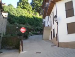 La calle Barranco se convierte de único sentido