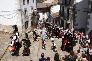 Candelario celebra 'a lo grande' su Boda Típica en el primer año como Fiesta de Interés Turístico