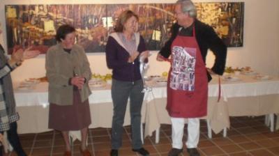Guillermo Luna ganador del III concurso de dulce de membrillo