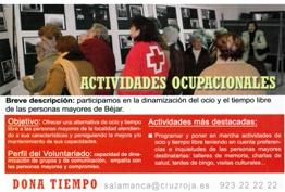 Cruz Roja utiliza una fotografía realizada en Candelario para una de sus campañas a nivel provincial