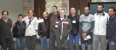 21 personas participan en el Rallye Fotográfico de Candelario