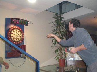 """Juan Luís Sánchez Duel campeón del torneo de dardos """"Casino Obrero Candelario 2009"""""""
