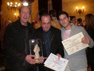 Luis Nieto y Josetxo Lami ganadores del Premio Solidaridad 2009 que otorga Cruz Roja a nivel provincial