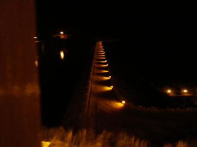 La presa Navamuño estrena iluminación
