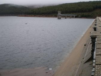 La presa de Navamuño al 87% de su capacidad