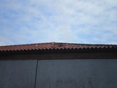 El tejado del Neveros se vuelve peligroso