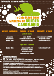 Maratón de Boulder en Candelario