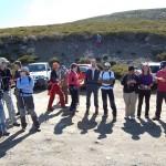 El 'Geolodía' de 'Equinoccio' reúne a una treintena de personas en El Travieso