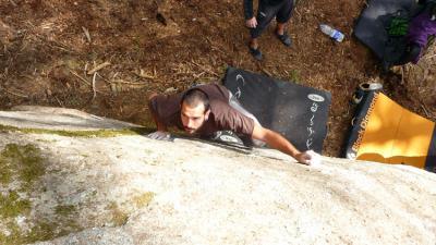 La competición de escalada Bloc&Roll reúne a 110 escaladores