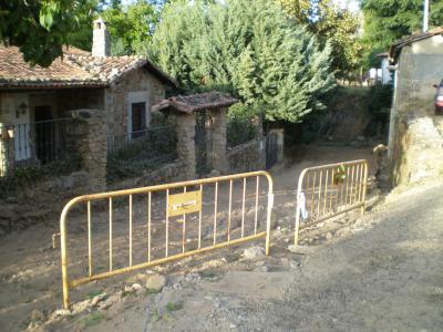 La C/Barranco de obras por nuevo pavimentado