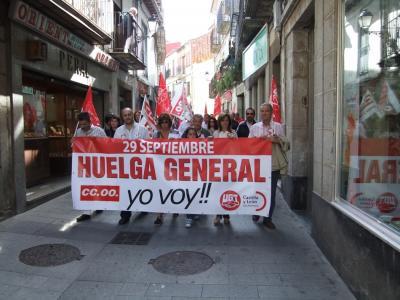 Datos cruzados en la participación de Huelga General en la Comarca bejarana