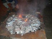 Hoguera de San Antón en el Solano a las 18:00 del domingo