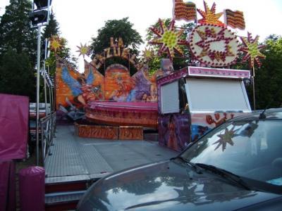 Una joven sufre un accidente en una atracción en Candelario
