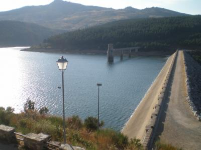 La presa de Navamuño comienza agosto al 75% de su capacidad
